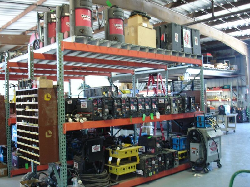 RJ Kates Welding & Cutting Rental Inventory